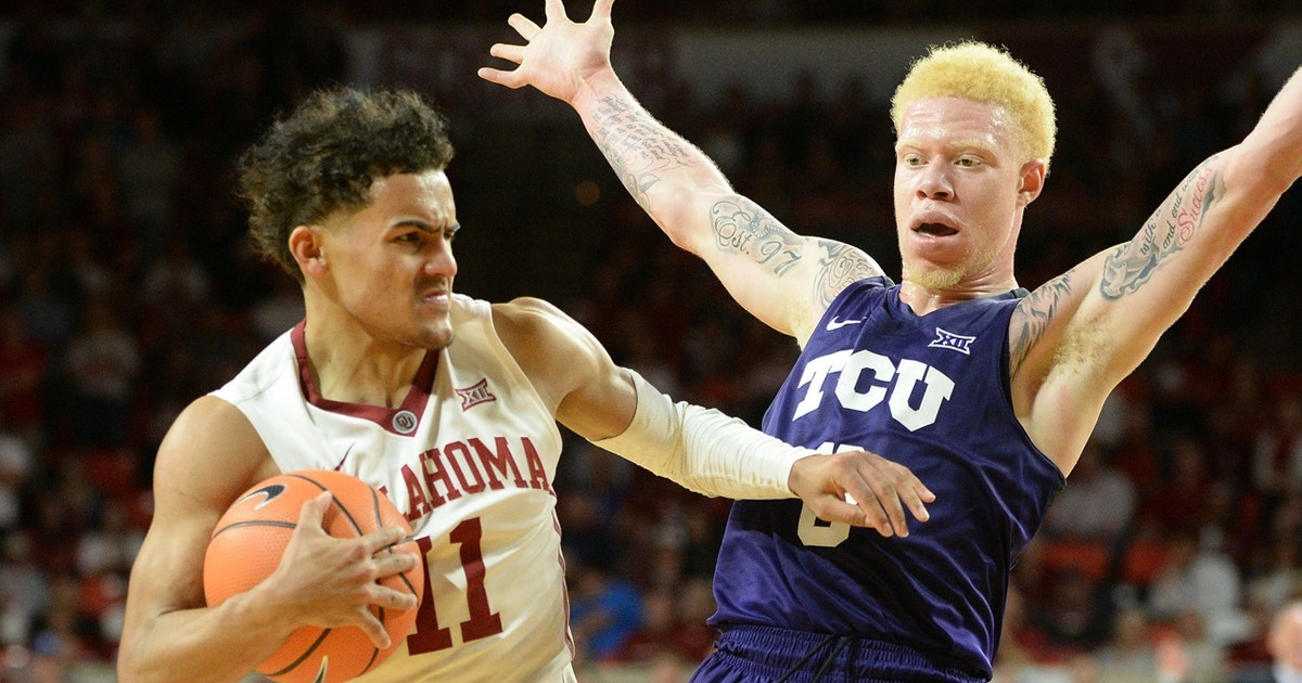 Trae Young scores 43 points, powers the No. 9 Oklahoma Sooners past the No. 16 TCU Horned Frogs ...