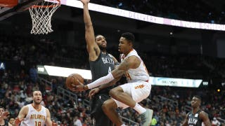 Hawks LIVE To GO: Nets make a late rally to defeat the Hawks
