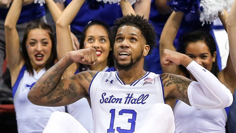 No. 13 Seton Hall outmuscles Georgetown