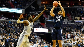 No. 1 Villanova shoots 51 percent from 3-point range in rout of Georgetown