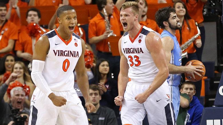 No. 8 Virginia stifles No. 12 North Carolina with dominant win