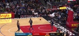 WATCH: Now THAT'S a dunk!