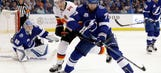 Lightning lose to Flames, defenseman Victor Hedman suffers lower-body injury