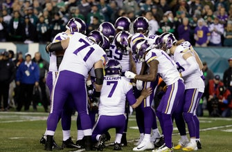 Vikings moving forward after crushing defeat in Philadelphia