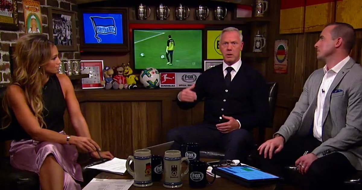 Kate Abdo and co discuss Aubameyang's absence against Hertha Berlin | FOX Sports