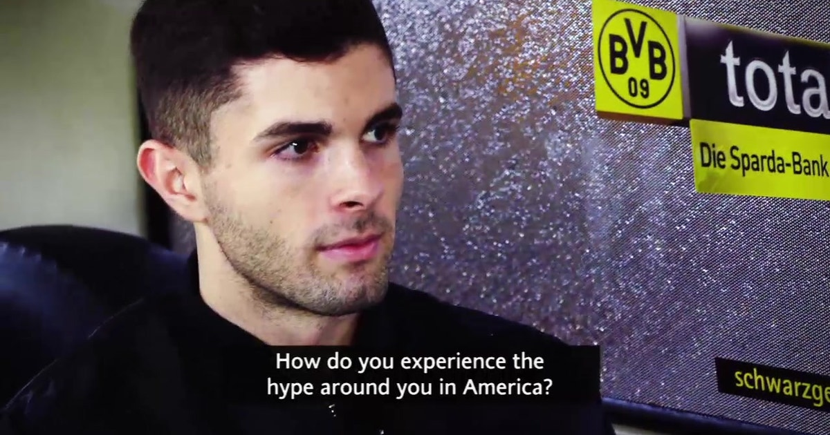 Christian Pulisic on managing the hype that follows him (VIDEO)
