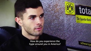 Christian Pulisic on managing the hype that follows him