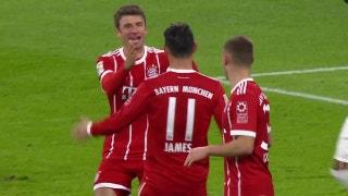 Bayern Munich vs. Werder Bremen | 2017-18 Bundesliga Highlights