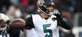 Shannon doesn't have much confidence in Blake Bortles moving forward