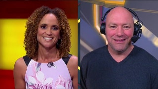 Dana White talks with Karyn Bryant after UFC St. Louis | HIGHLIGHT | UFC FIGHT NIGHT
