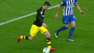 Hertha Berlin vs. Borussia Dortmund | 2017-18 Bundesliga Highlights