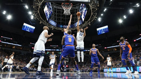 Minnesota's Karl-Anthony Towns accumulates league-best 35th double-double in Wednesday night win
