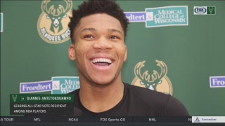 Bucks star Antetokounmpo on NBA All-Star selection