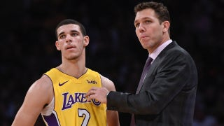 Skip Bayless explains why 'it's Lonzo vs Luke Walton' on the Lakers