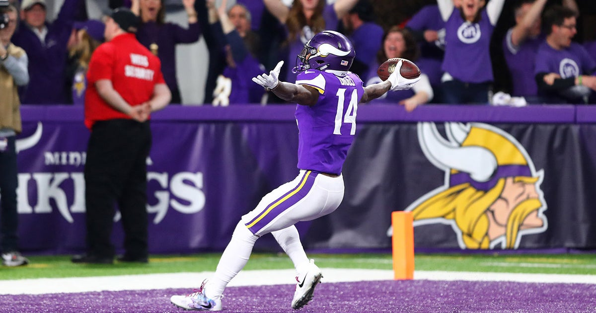 Skip Bayless reacts to Stefon Diggs' game-winning catch as the Minnesota Vikings advance to the NFC championship game (VIDEO)