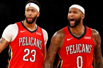 Images of Pelicans Davis, Cousins named Western Conference All-Star starters