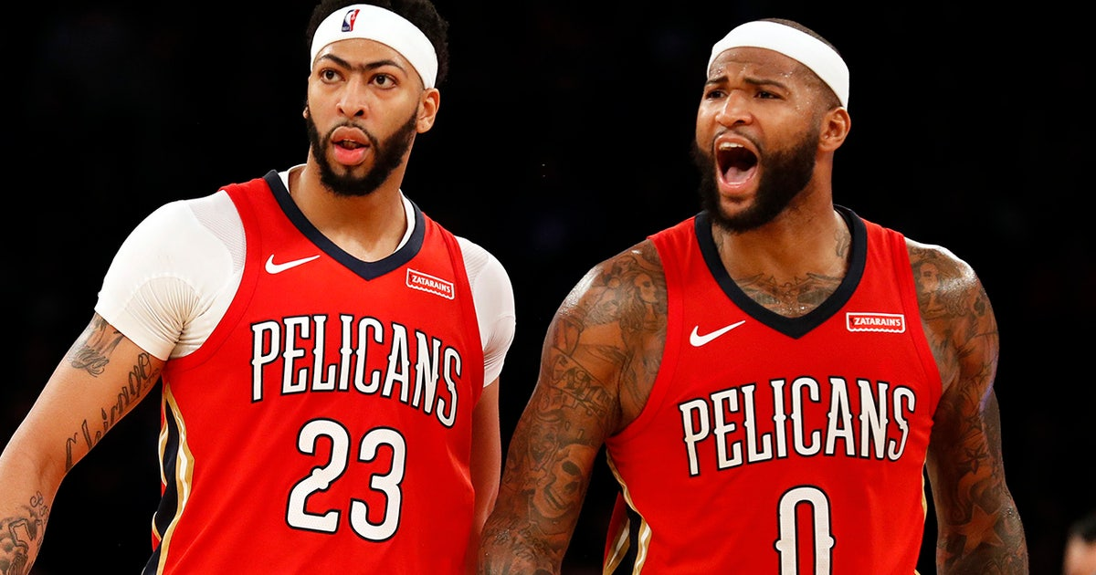 Shannon Sharpe on Pelicans' Davis and Cousins: 'It'll be a dog fight dealing with this team because of these two' (VIDEO)