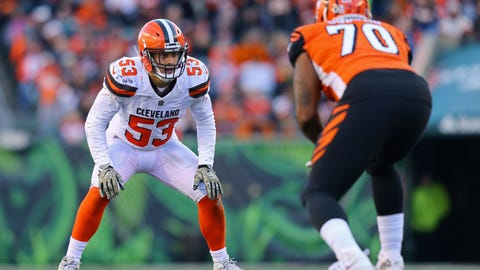 Joe Schobert, LB, Cleveland Browns