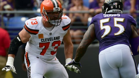 Joe Thomas, OL, Cleveland Browns