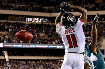 With season on the line, Matt Ryan-Julio Jones connection comes up short for Falcons
