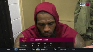 LeBron on history with Stephenson, Cavs' bad road trip