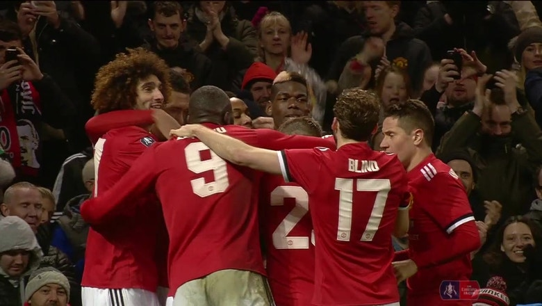 Jesse Lingard nets stunning late goal for Man United vs. Derby County | 2017-18 FA Cup Highlights