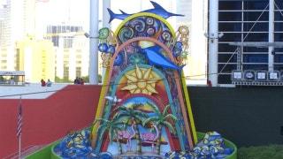 Derek Jeter wants the Marlins' sculpture gone