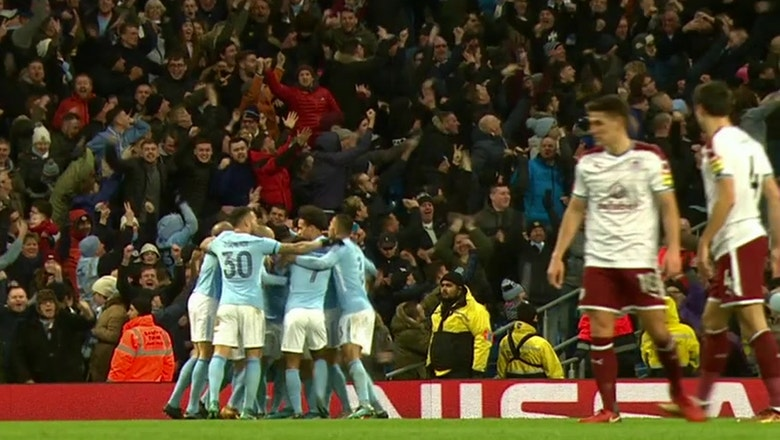 Manchester City score four in the second half to beat Burnley | 2017-18 FA Cup Highlights