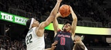 No. 4 Michigan State needs OT to beat Rutgers 76-72
