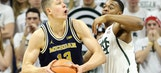 Michigan's Moe Wagner scores 27 in upset of No. 4 Michigan State