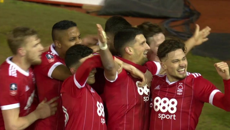 Nottingham Forest vs. Arsenal | 2017-18 FA Cup Highlights