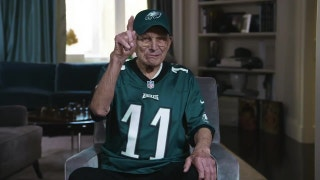 99-year-old Eagles fan has a message for 99-year-old Vikings fan and Roger Goodell