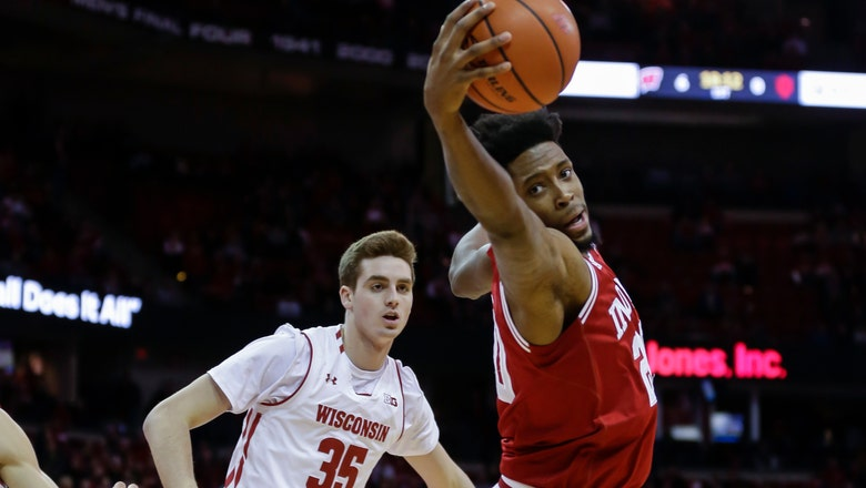 Hoosiers' Davis is out for season with torn Achilles tendon