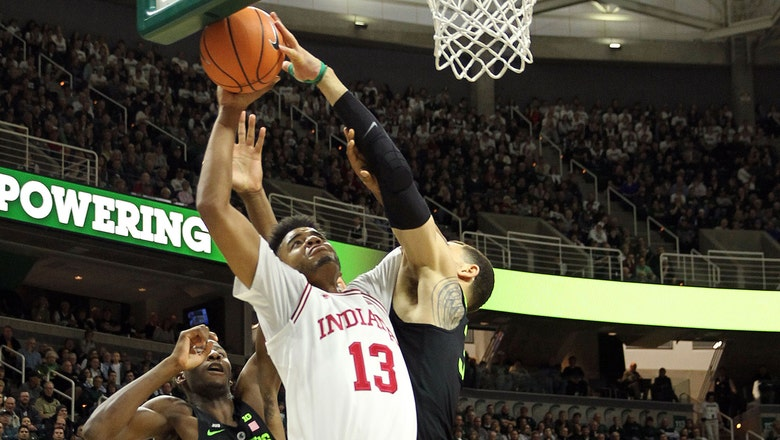 Hoosiers' winning streak snapped with 85-57 loss to Spartans