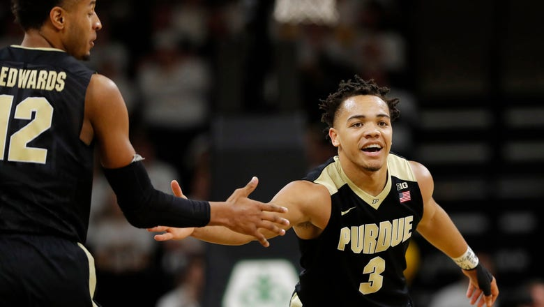 Purdue keeps rolling with 87-64 win over Iowa