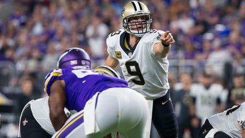 Will the Vikings' defense hold up against Drew Brees?
