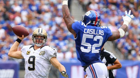 Jonathan Casillas, LB, New York Giants