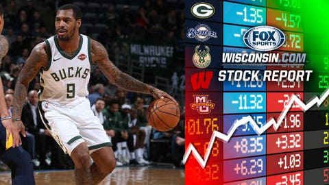 Sean Kilpatrick, Bucks guard (↑ UP)