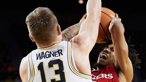 Wolverines bounce again, 'intestine' out win vs. Rutgers
