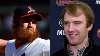 John Brebbia's ordeal of shaving his beard