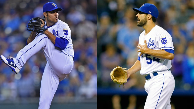 Royals deal Alexander to Dodgers, Soria to White Sox