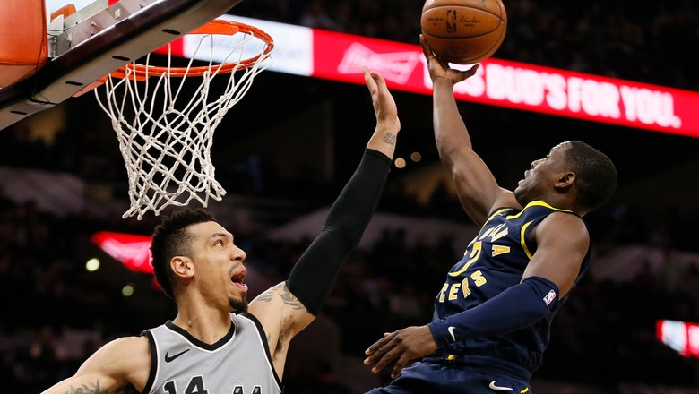 Pacers pull out 94-86 win over Spurs in San Antonio