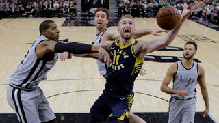 WATCH: Pacers get big win over Spurs in San Antonio