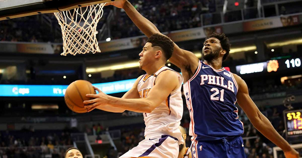 Suns run out of steam in 4th quarter, fall to 76ers