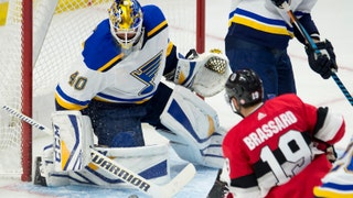 Hutton on Blues' win over Senators: 'I thought we played great'