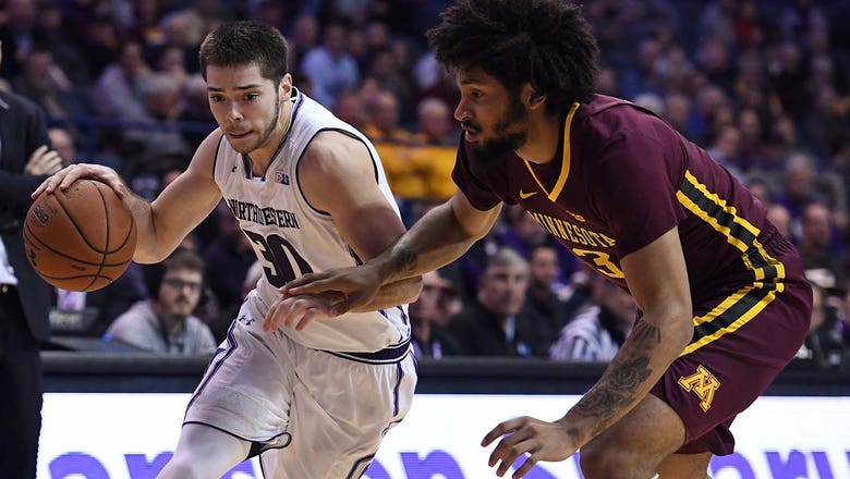Gophers fall behind early in 83-60 loss to Northwestern