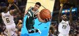 BAM! Bucks' scoring trio among best in NBA, team history