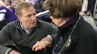 99-year-old Vikings superfan gets Super Bowl gift from Roger Goodell