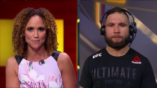 Jeremy Stephens talks with Karyn Bryant after his fight night TKO | HIGHLIGHT | UFC FIGHT NIGHT