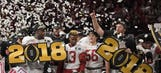 Which college football program owns the most national championships?